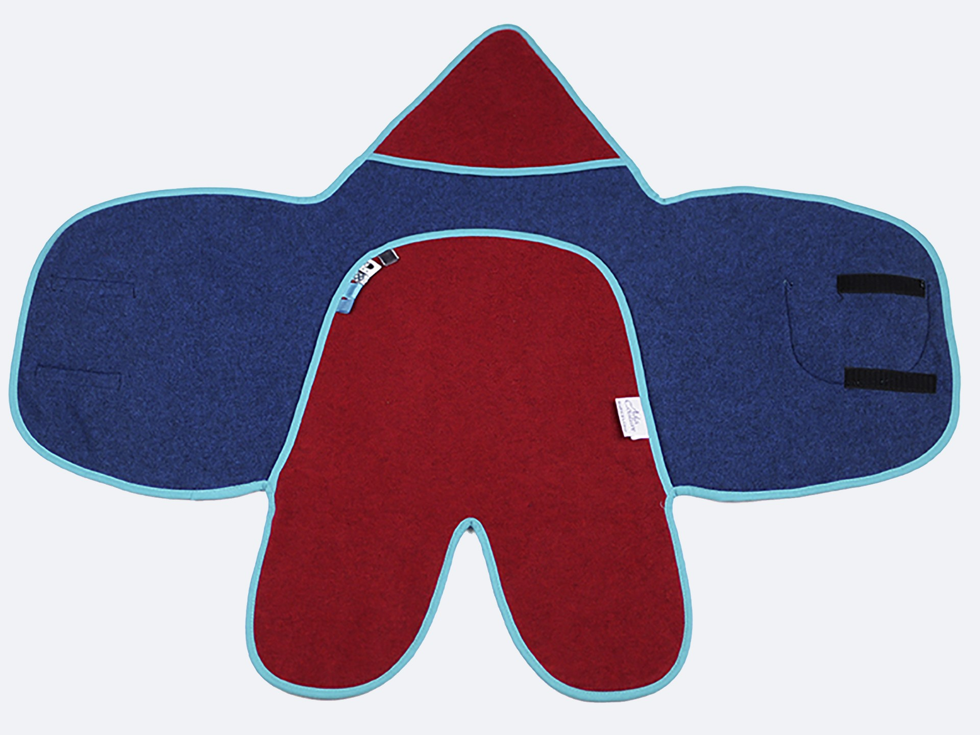 Pim-Pam azul y rojo