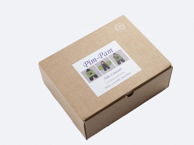 Pim-Pam plumas Algodón Ecológico